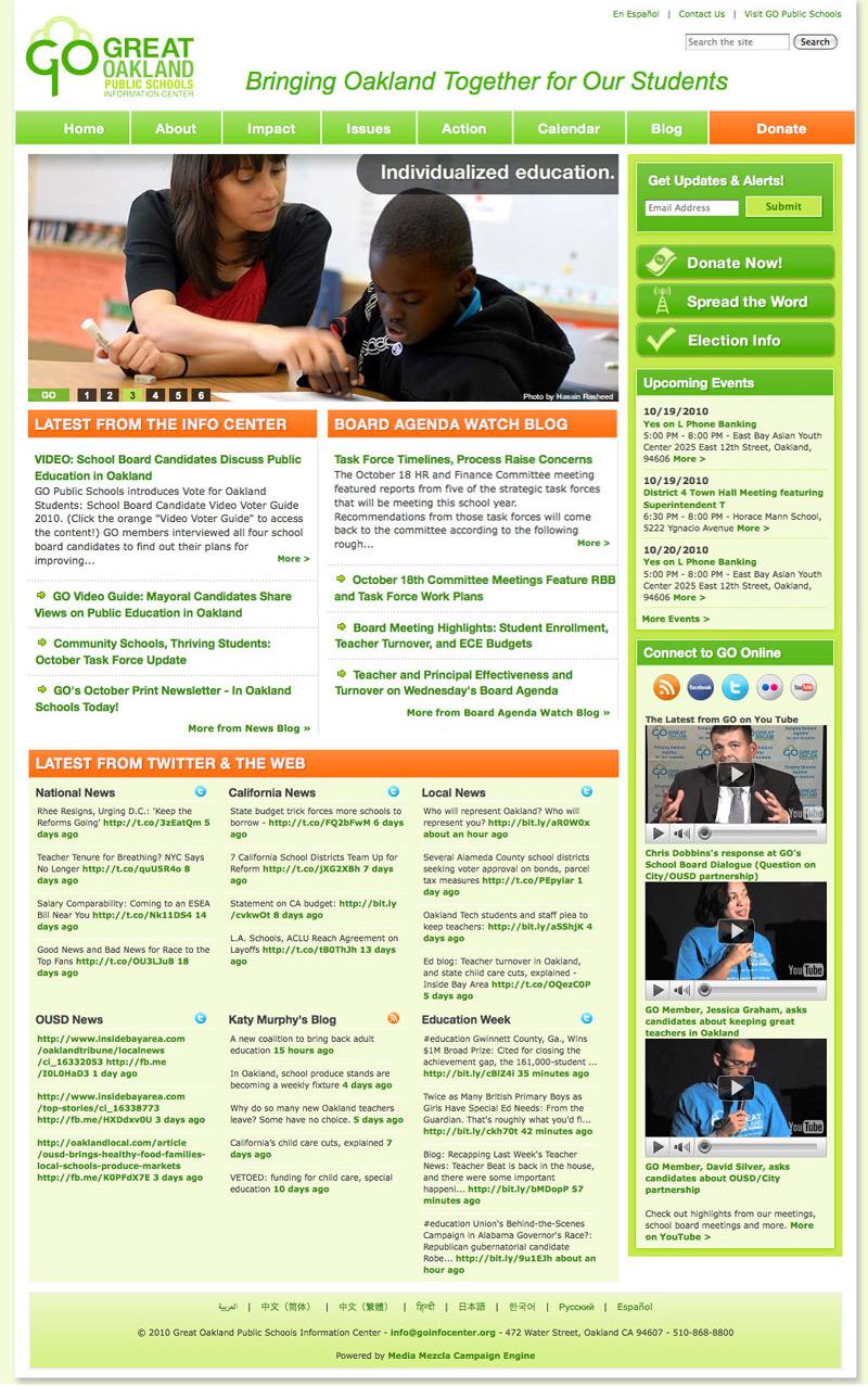 Great Oakland Public Schools Leadership Center